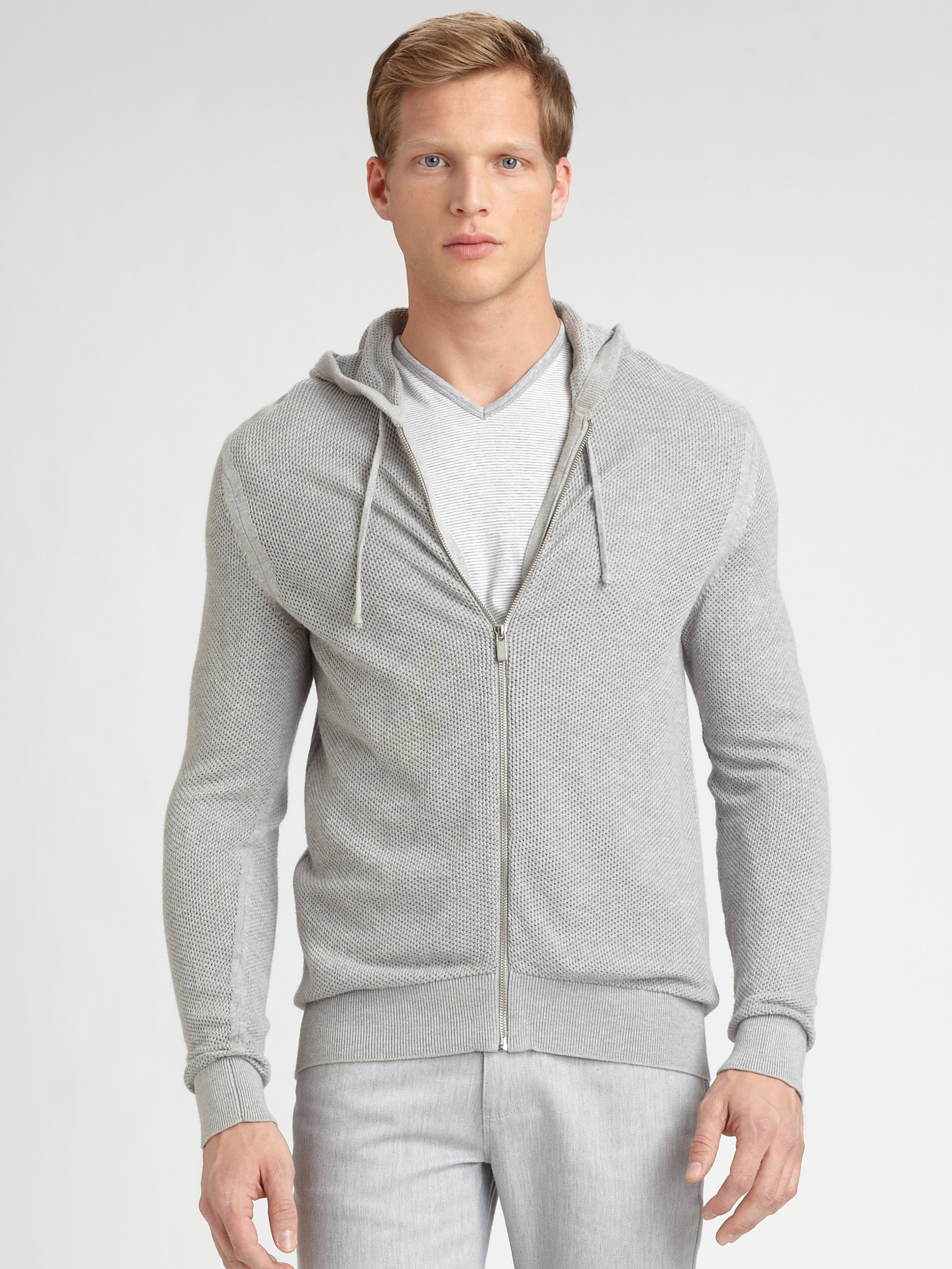 a55daa2b1e026 Gallery. Previously sold at  Saks Fifth Avenue · Men s Red Hoodies Men s  Zip Up ...