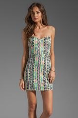 Parker Creole Neon Sequin Dress - Lyst