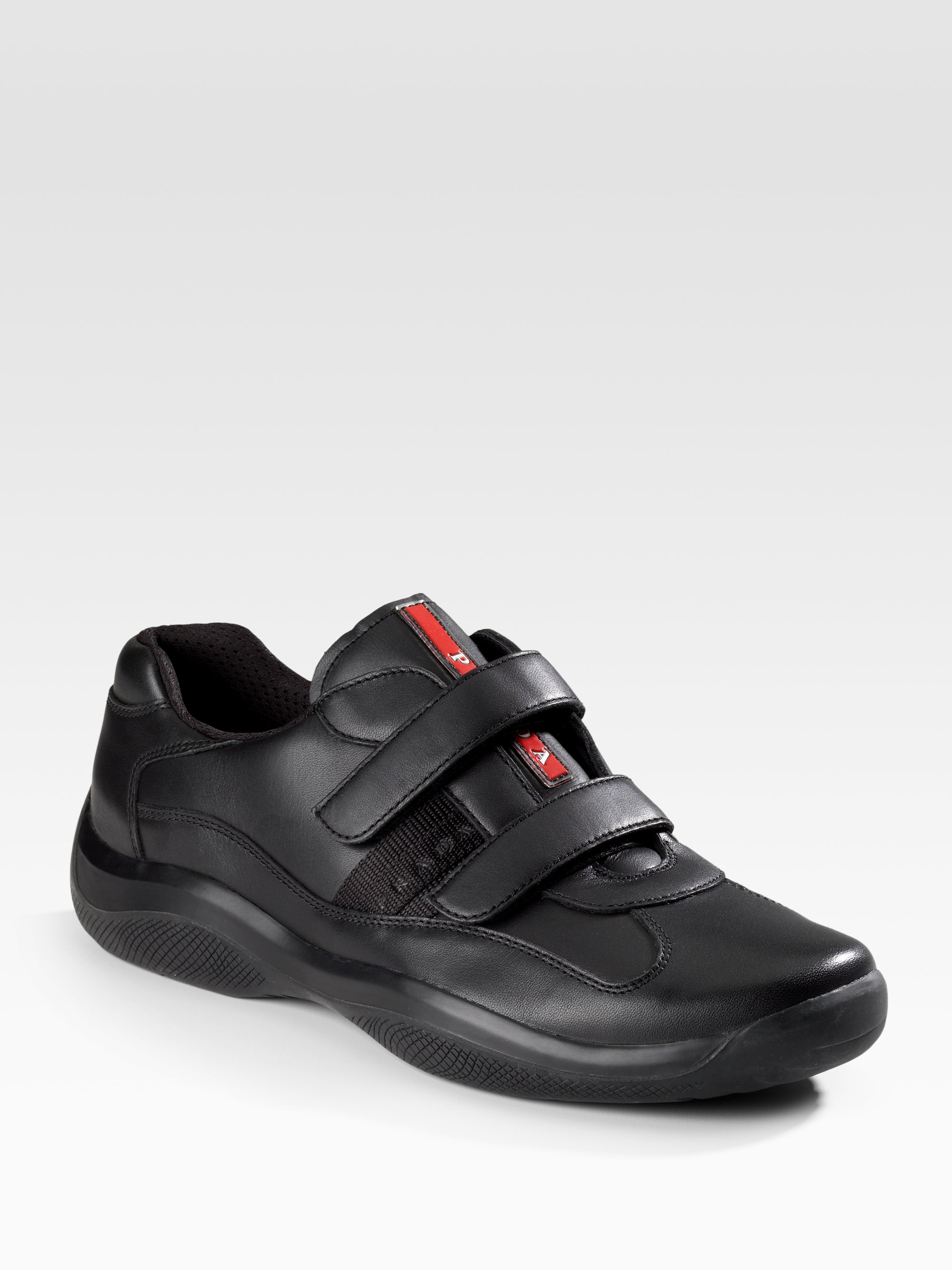 Black Peep Toed Prada Shoes