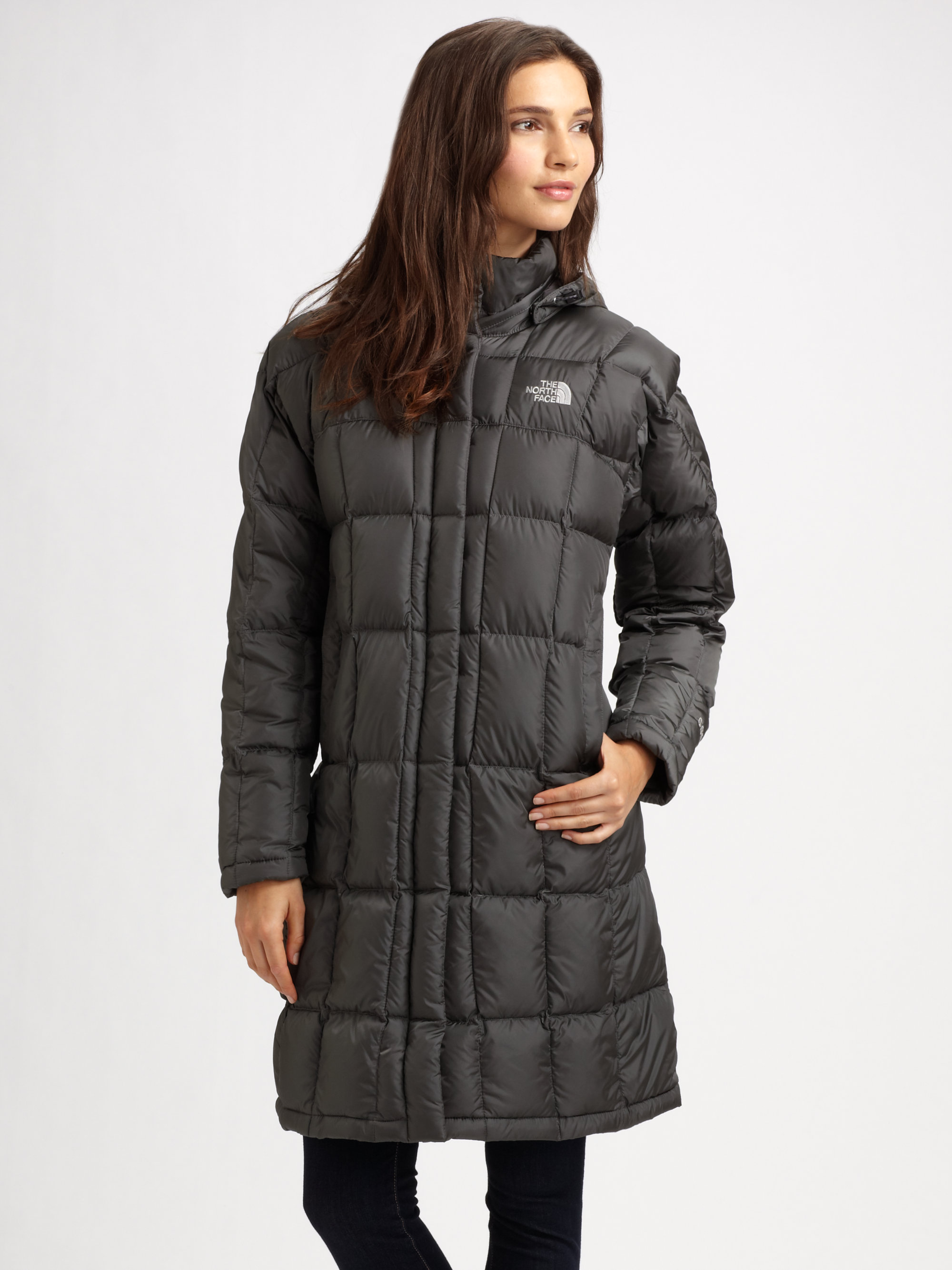 The North Face Metropolis Down Parka in Gray (arctic pool ...