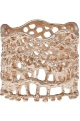 Aurelie Bidermann Lace Ring - Lyst