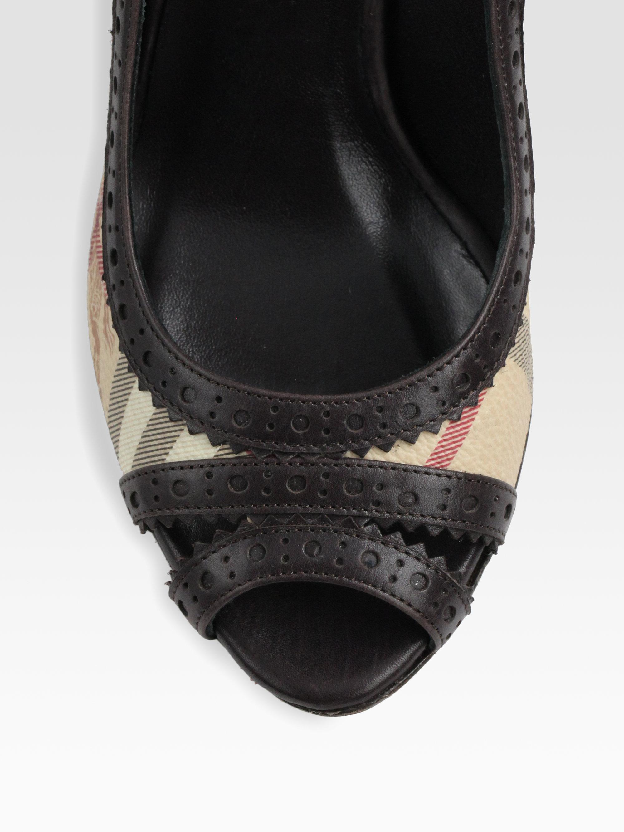 Peep Toe Shoes Betts