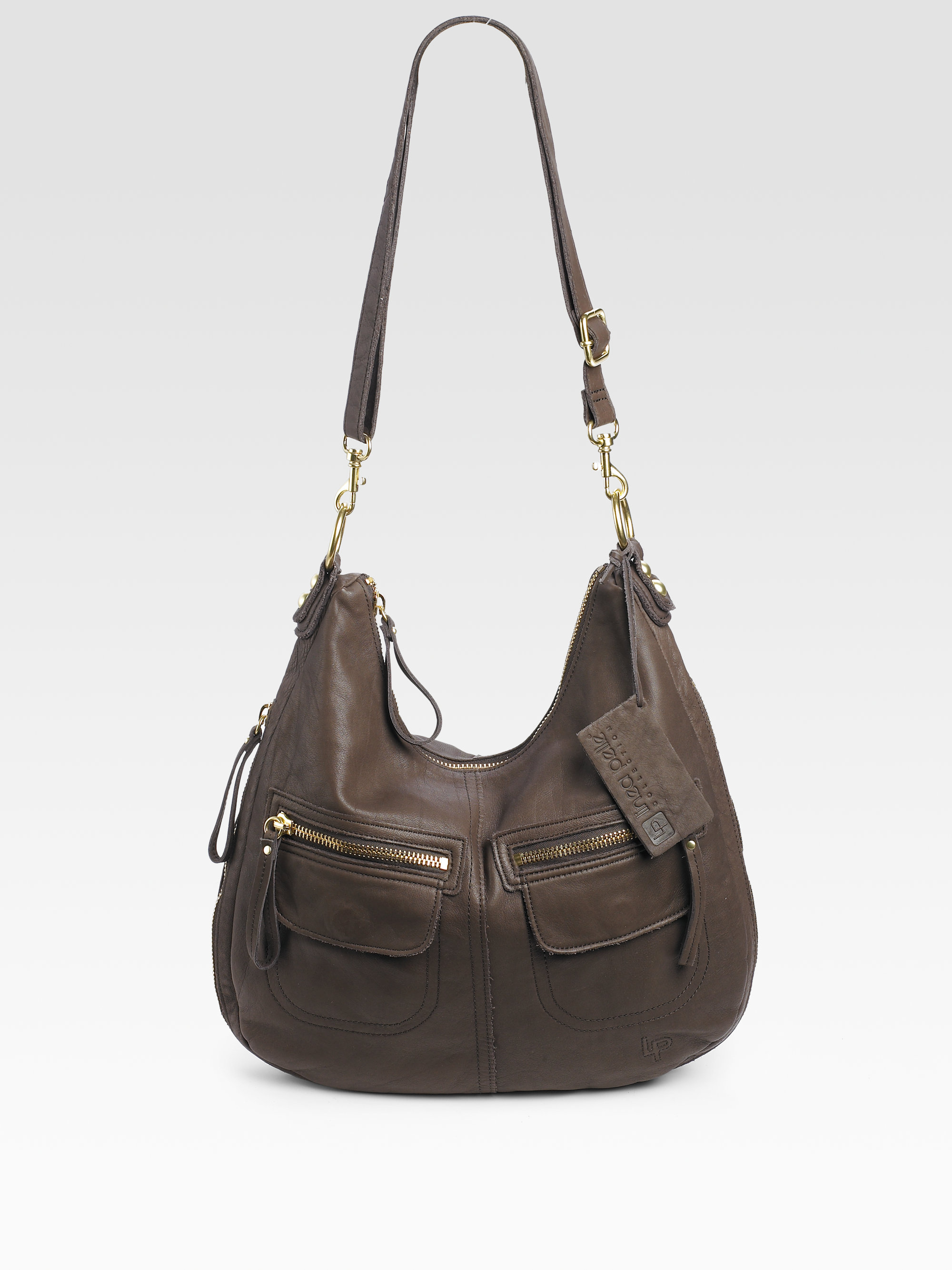 Linea Pelle Dylan Expandable Shoulder Bag 100