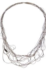 Maison Martin Margiela Intertwined Chain Necklace - Lyst