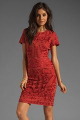 Antik Batik Baila Dress in Coral - Lyst