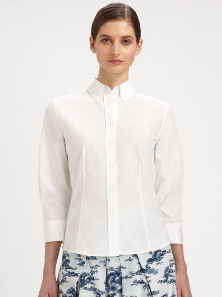 White Cotton Blouse 11
