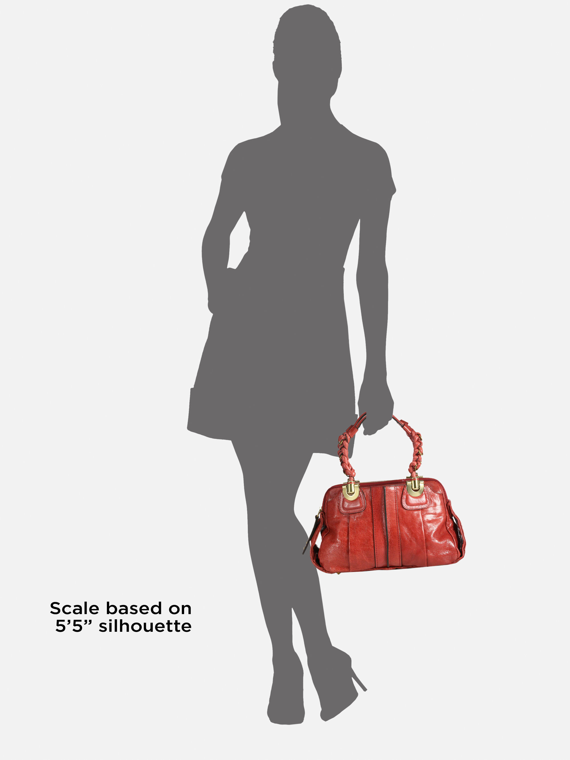 Chlo¨¦ Heloise Leather Top Handle Bag in Red (raspberry)   Lyst