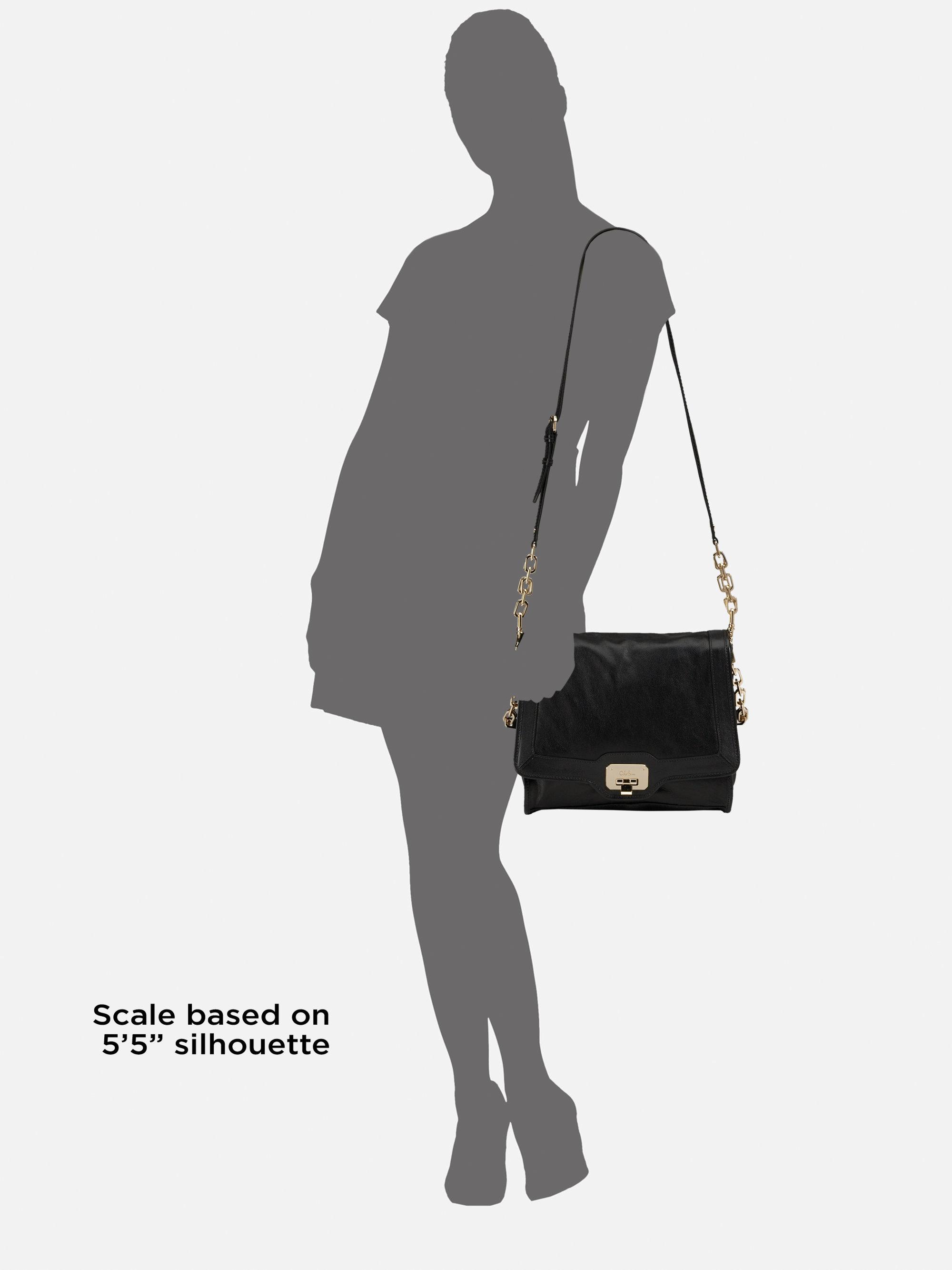 Cole Haan Ainsley Jenna Shoulder Bag Black 11