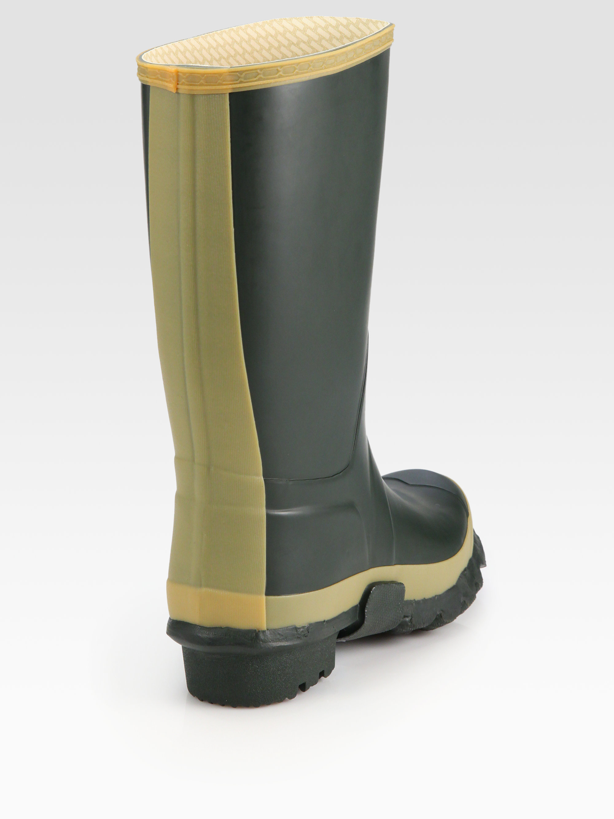 Hunter Balmoral Royal Wellington Boots in Green for Men Lyst