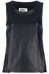 Mm6 By Maison Martin Margiela Sleeveless Tank - Lyst
