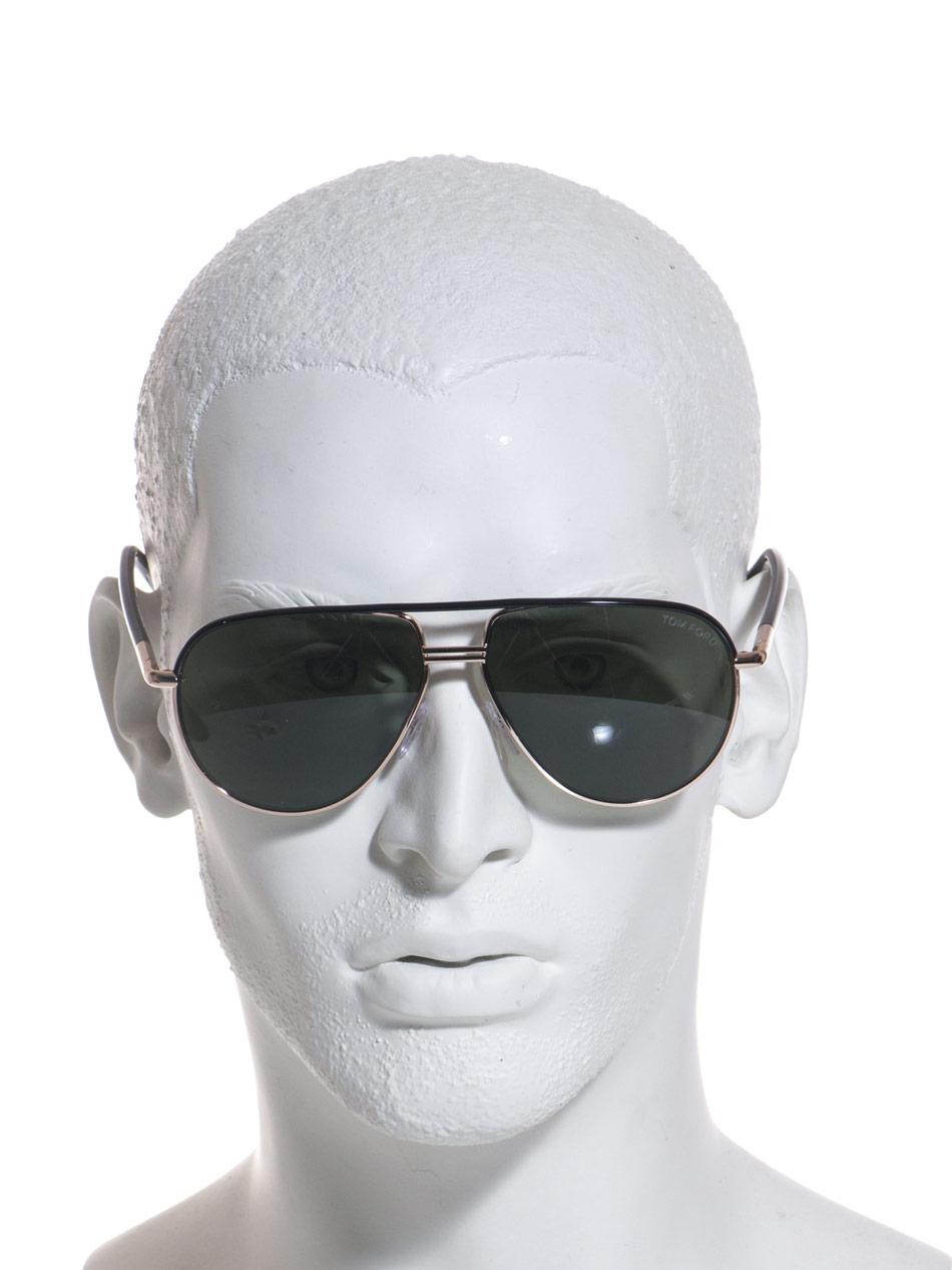 fd516c96e02 Lyst - Tom Ford Cole Aviator Sunglasses in Metallic for Men