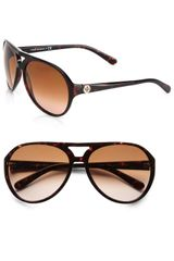 Tory Burch Plastic Aviator Sunglasses - Lyst
