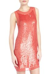 Alexia Admor Sequin Sheath Dress - Lyst