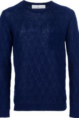 Golden Goose Deluxe Brand Knitted Sweater - Lyst