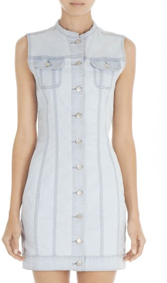 J Brand Christopher Kane 480 Collarless Sleeveless Coat - Lyst