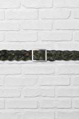 John Varvatos Braided Leather Belt - Lyst