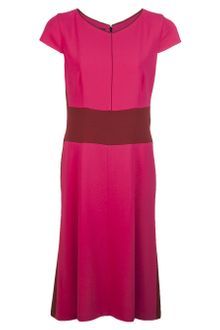 Narciso Rodriguez Contrast Waist Dress - Lyst