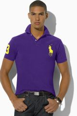 Polo Ralph Lauren Slimfit Big Pony Polo - Lyst