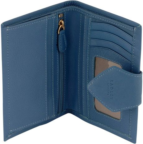 Radley Charlton Medium Tab Purse in Blue ( navy)