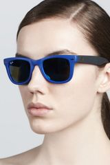 Ray-Ban Folding Wayfarer Sunglasses - Lyst