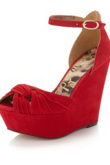 Sam Edelman Qiana Wedge Pump - Lyst