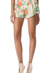 Alice + Olivia Butterfly Shorts - Lyst