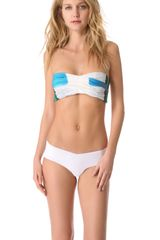 Boy by Band Of Outsiders Bandeau Bikini - Lyst