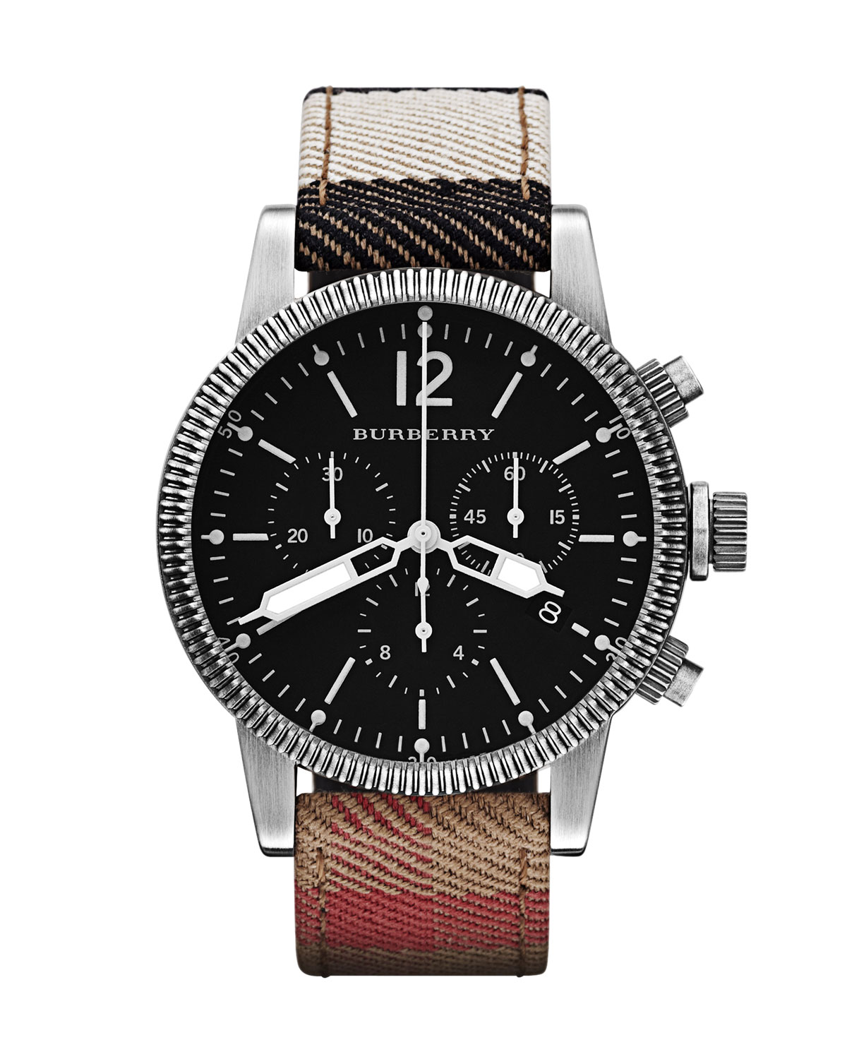 f428657dbe5 Lyst - Burberry Brit Mens Watch in Brown for Men