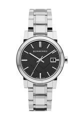 Burberry Stainless Steel Logodial Watch - Lyst