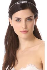 Dauphines Of New York Silver Screen Goddess Headband - Lyst
