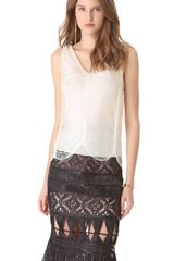 Jean Paul Gaultier V Neck Top - Lyst