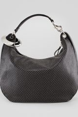 Jimmy Choo Solar Large Studded Hobo Bag - Lyst