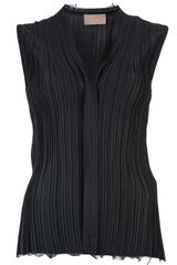 Lanvin Vault Pleated Top - Lyst