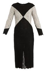 L'Wren Scott Diamond Lace Dress - Lyst