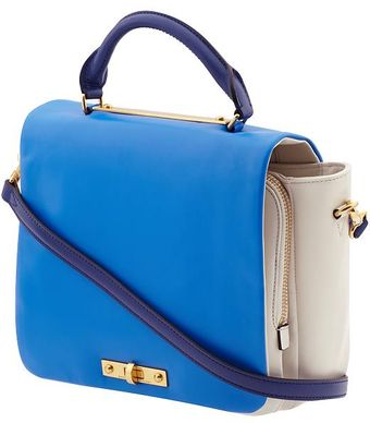 Marc By Marc Jacobs Goodbye Columbus Colorblocked Top Handle - Lyst