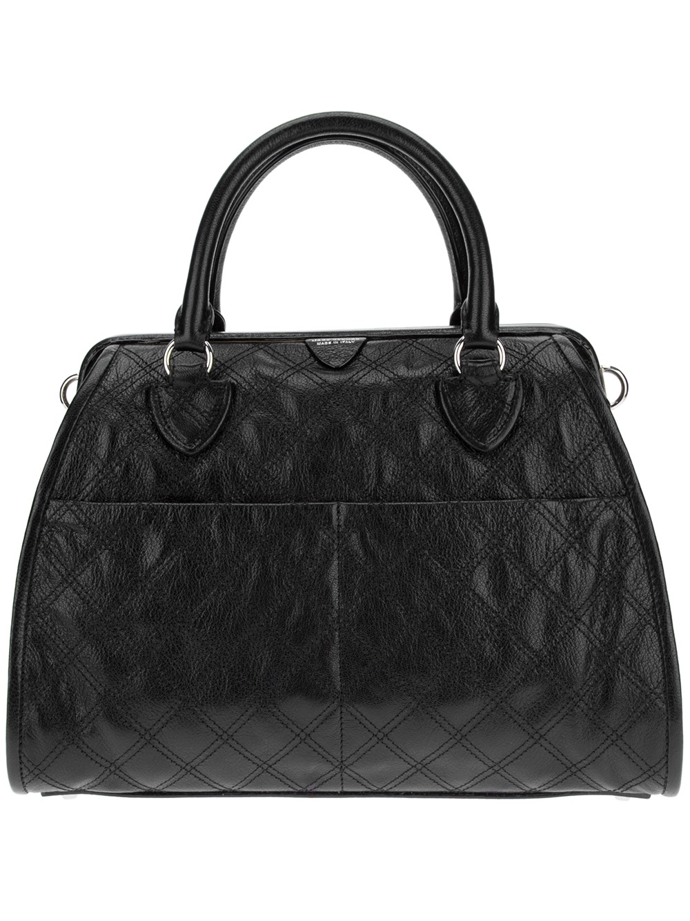 Marc Jacobs Quilted Tote Bag In Black Lyst