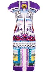 Mary Katrantzou Appaloosa Print Dress - Lyst
