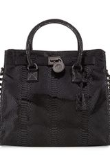 Michael by Michael Kors Hamilton Jewel Large Tote Bag - Lyst