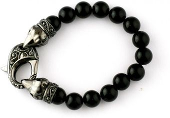 Stephen Webster Raven Head Beaded Bracelet - Lyst
