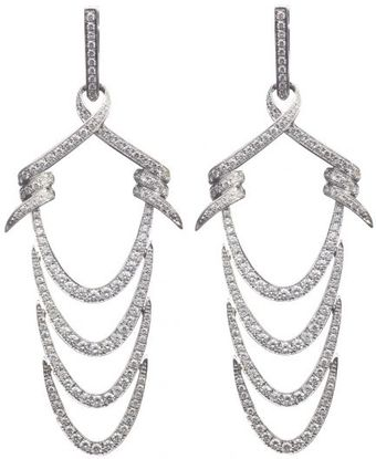 Stephen Webster Forget Me Knot Chain Ripple Earrings - Lyst