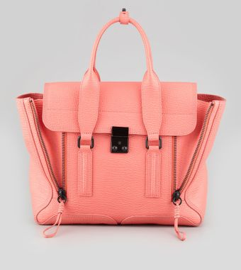 3.1 Phillip Lim Pashli Medium Zip Satchel Bag - Lyst