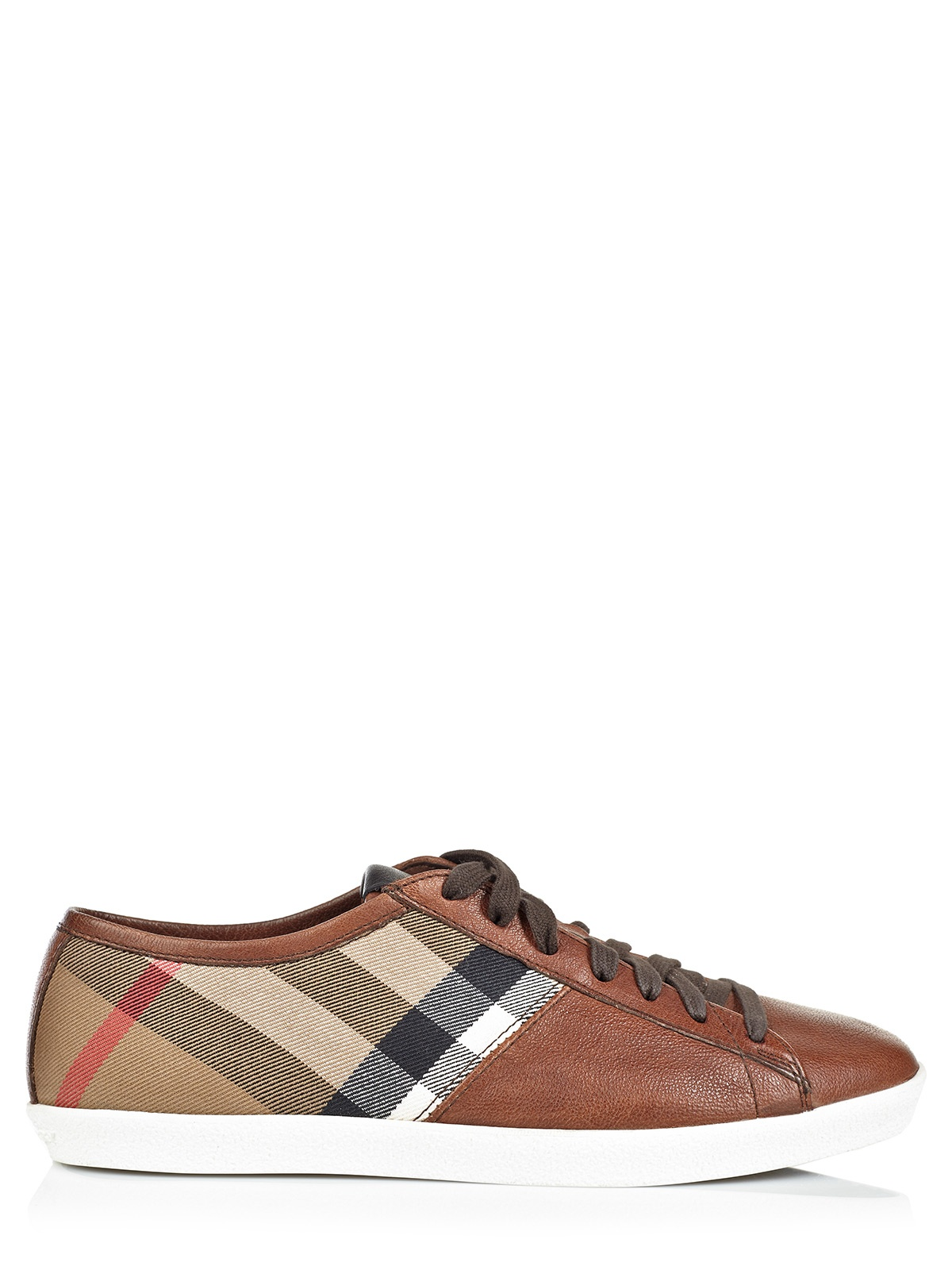 burberry shoes brown in brown for lyst