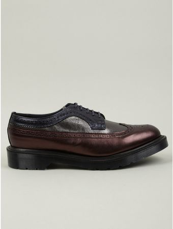 Dr. Martens Mens Mie Brogue Shoes - Lyst