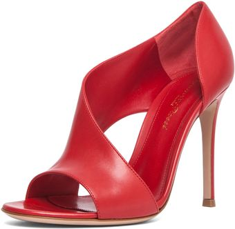 Gianvito Rossi Heel in Red - Lyst