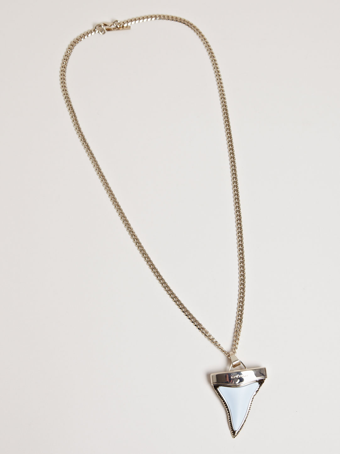 383273b263931e Givenchy Large Shark Tooth Necklace in Metallic - Lyst
