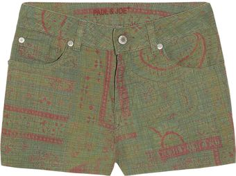 Paul & Joe Frac Printed Woven Stretch-Cotton Shorts - Lyst