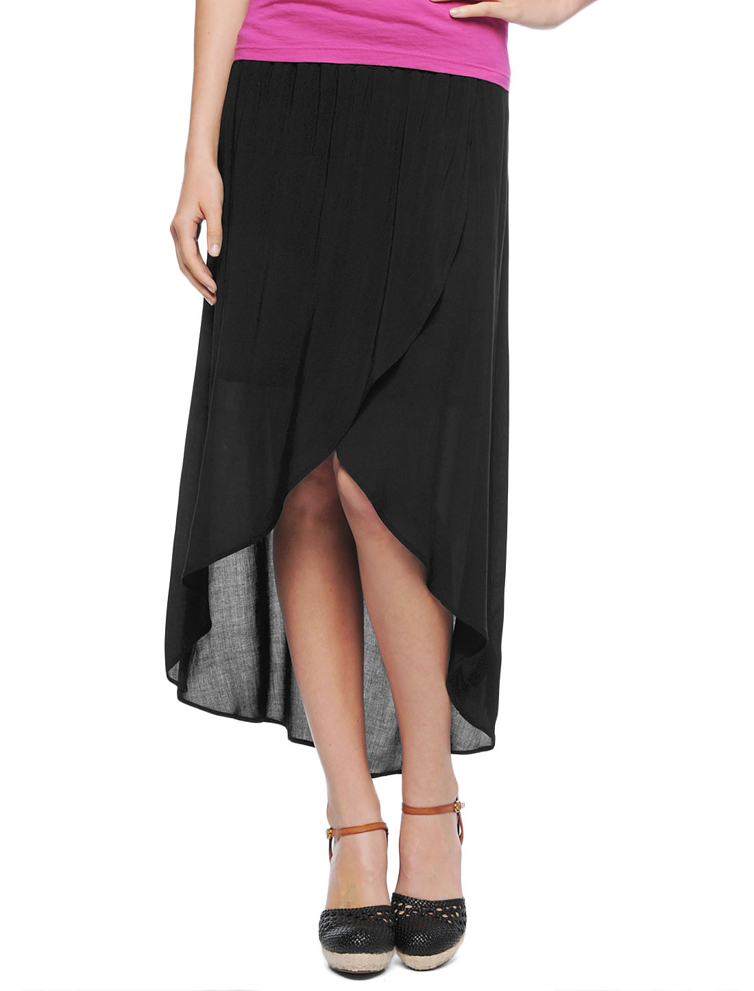 Splendid Tulip Skirt in Black | Lyst