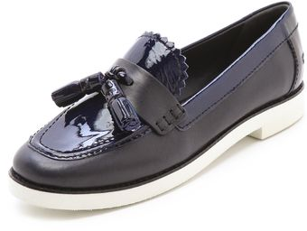 Tory Burch Careen Loafers with Contrast Sole - Lyst