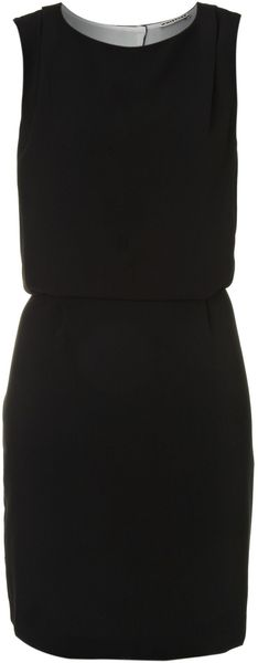 Whistles Anja Crepe Dress - Lyst
