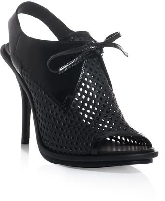 Balenciaga Glove Net Open Toe Shoes - Lyst